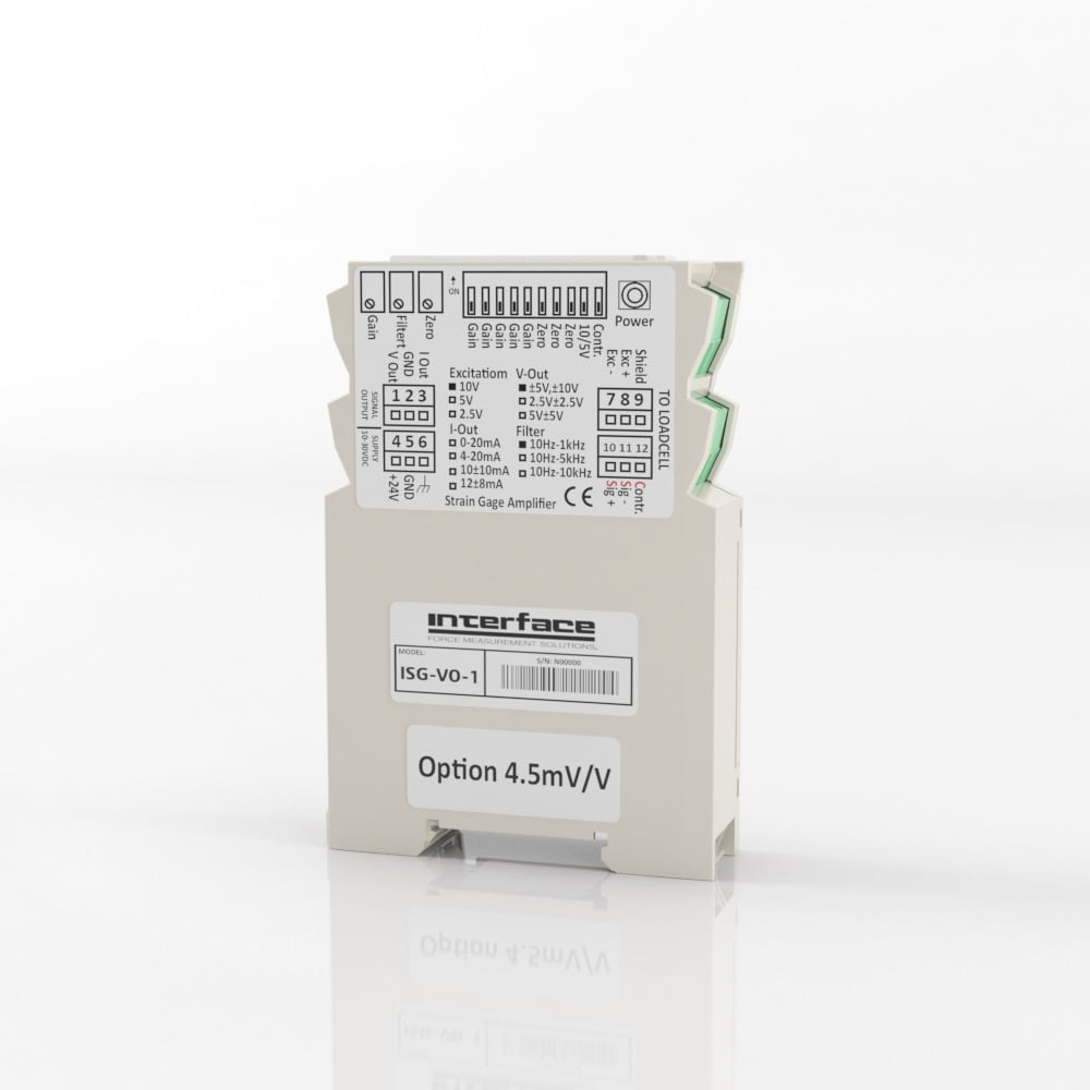 ISG ISOLATED DIN RAIL MOUNT SIGNAL CONDITIONER